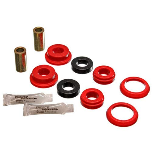Energy Suspension Axle Pivot Bushing Set Must Reuse Existing Outer Metal Shells Red ()