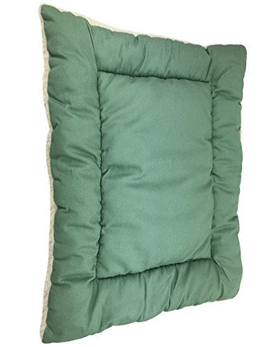 Luxury Dog Pillow (Dog & Cat Crate Cushion & Pillow - Luxury Bed Mat & Pad. With Reversible Fleece Elegant Design Your Pet Will Love, by Petbyrn)
