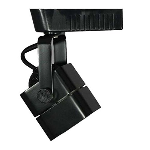 Direct-Lighting 50012 Black MR16 Cube Low Voltage Track Lighting Head - Low Voltage Track Lighting