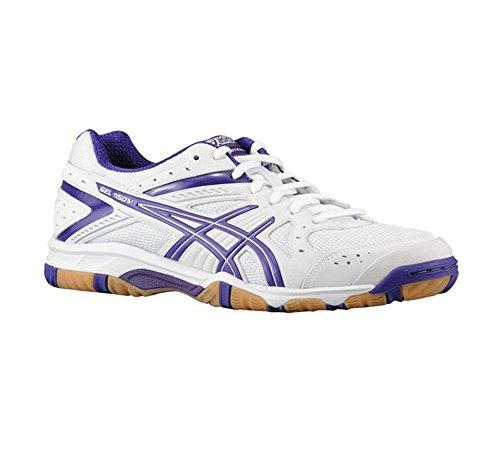 ASICS New Women's Gel 1150V Volleyball Shoe White/Grape 11 by ASICS