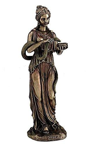 Veronese (ヴェロネーゼ) ヒュギエイア ギリシャ 神 健康 ブロンズ風 フィギュア 置物 B072J3F9WR