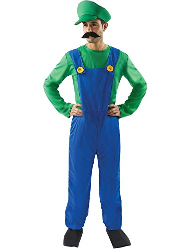 [Super Plumber's Mate Costume] (Nintendo Costumes For Adults)