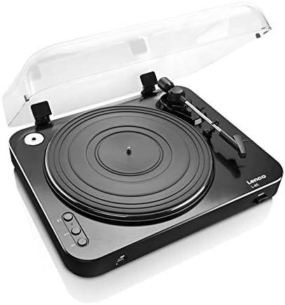 Lenco L-85 Color Negro Tocadiscos con USB: Amazon.es: Electrónica