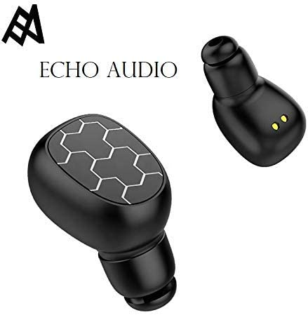 ECHO AUDIO Bluetooth Wireless 5.0 Head Phones with Microphone and Power Bank deep bass