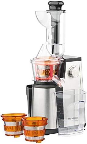 H. Koenig topc524 Top Chef extractor de zumo vertical: Amazon.es ...