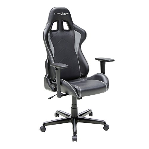 Dxracer Formula Series DOH FH08 NG Newedge Edition Gaming Chair Ergonomic Computer Chair with pillows Black Grey