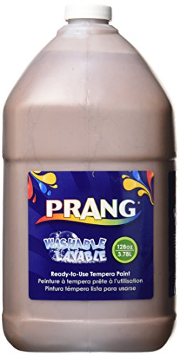 Prang 10608 Prang Washable Paint, Gallon Size, Brown, 1 Unit