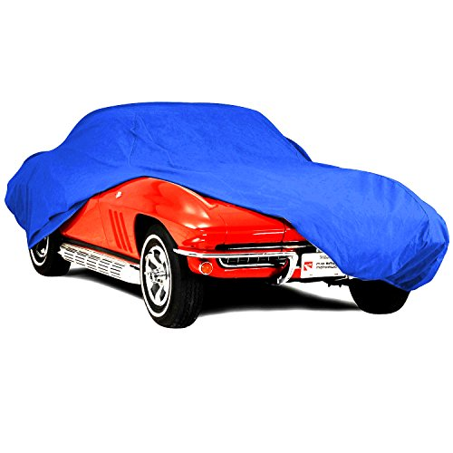 Corvette Semi Custom Car Cover Fits: All Corvettes 53 through 2018 Blue Color