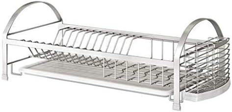 家の台所棚付けの貯蔵の皿の水切り器の棚の棚家の棚のステンレス鋼の皿の棚の水切りの棚の世帯の食器棚の食器の貯蔵の供給の棚
