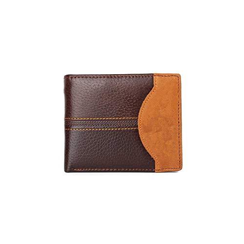 Louis Vuitton Zippy Organizer (Men Wallets Cow Leather Short Design Card Holder Passcard Pocket Men Purse Brand Male wallet,type5 better)