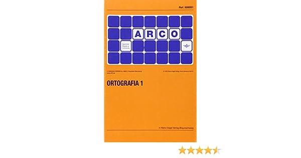 ARCO ORTOGRAFIA 1 5 ARCO: Amazon.es: Vv.Aa, Vv.Aa: Libros