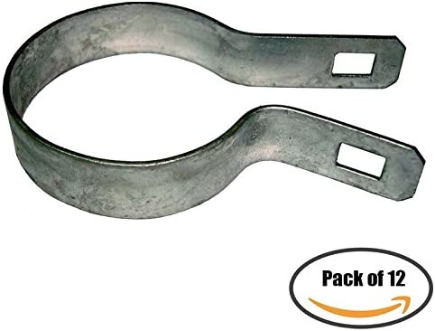 """1 3//8/"""" Gate Clips Hooks Galvanized 24pcs chain link fence gate kennel"""