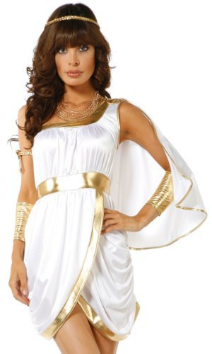 Forplay Women's Immortal Beauty Costume Set, White, X-Small/Small]()