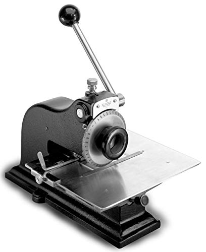 Schmidt MOD4-1/4 Model 4 Manual Nameplate Marking Press with 1/4″ Character Size Marking Dial