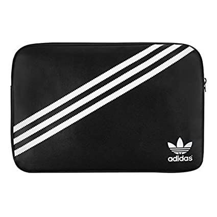 the best attitude b1855 34d7d Adidas Sleeve for 13-Inch Laptop - Black/White: Amazon.co.uk ...