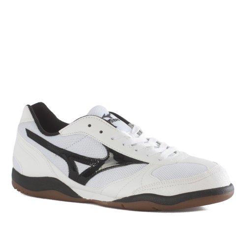Mizuno - Zapatillas de fútbol sala de Material Sintético para hombre White- Black White- Black