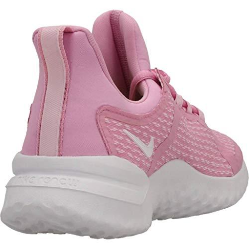 Pink Mujer Nike White Atletismo Multicolor pink De Zapatillas gs Foam Rival Para 600 Renew Rise qrw7qaF0U