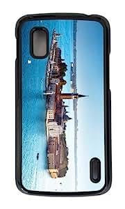 Google Nexus 4 Case,MOKSHOP Adorable San Giorgio Maggiore Island Hard Case Protective Shell Cell Phone Cover For Google Nexus 4 - PC Black