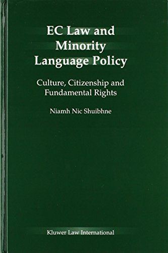 EC Law and Minority Language Policy:Culture, Citizenship and Fundamental Rights by Springer