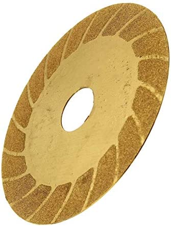 Gulakey 丸鋸刃、ガラスセラミックゴールド花崗岩ダイヤモンドソーブレードディスクカッティングホイールフィットする角度グラインダー電気ツール