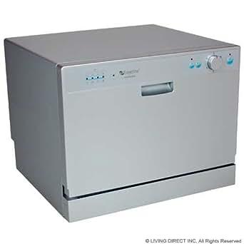 Amazon Com Edgestar Countertop Portable Dishwasher For 6
