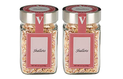 Shallots 2 Pack - Sweet, tangy flakes with a hint of garlic and onion. ()