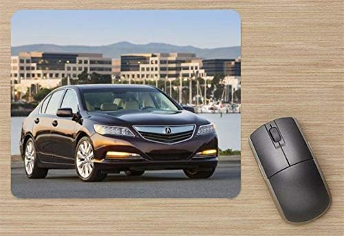 Acura RLX Sport Hybrid 2014 Mouse Pad, Printed Mousepad