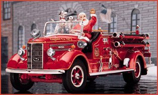 1948 Mack Christmas Pumper by the Franklin Mint in 1:32 Scale