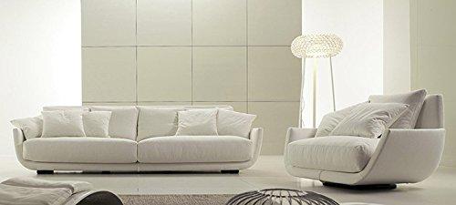 Calia Maddalena–Sofa Design Venezia aus Leder terra Poltrona - 120x92x90 cm Pelle Terra Corda