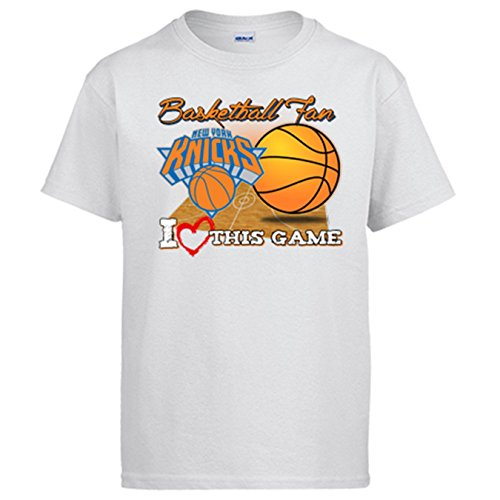Camiseta NBA New York Knicks Baloncesto Basketball Fan I Love This Game: Amazon.es: Ropa y accesorios