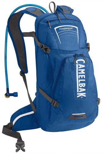 Camelbak Charge Hydration Pack (100-Ounce/701 Cubic-Inch, Skydiver Blue), Outdoor Stuffs