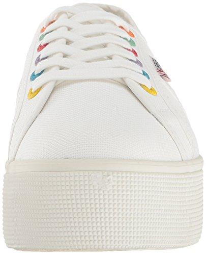 Superga Femmes 2790 Coloreycotw Mode Sneaker Blanc / Multi