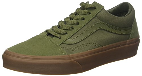 - Vans Old Skool Mens Trainers Olive - 7 UK