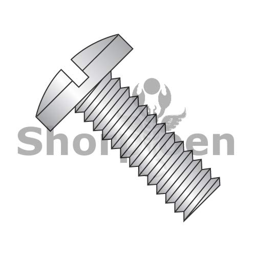 SHORPIOEN Slotted Binding Undercut Machine Screw Fully Threaded 18-8 Stainless Steel 10-32 x 3/8 BC-1106MSB188 (Box of 4000)