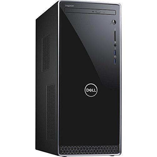 (Dell Inspiron 3670 Desktop, Intel Core i5-8400 Six-Core 2.8GHz Upto 4.0GHz, 4GB DDR4, 1TB HDD, DVD-RW, WiFi, Bluetooth, Windows 10)