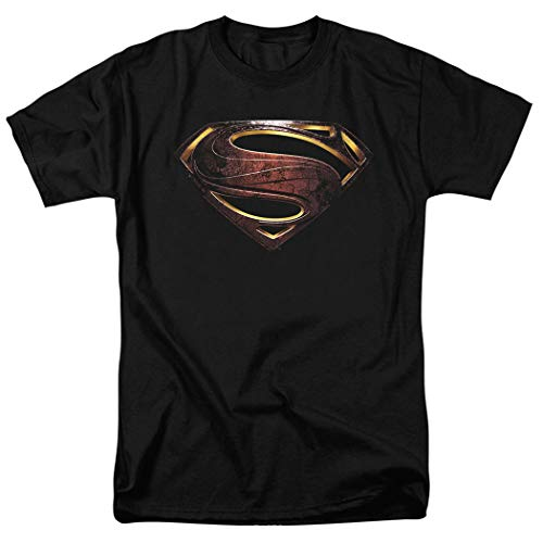 Justice League Movie Superman Logo DC Comics T Shirt (Medium)
