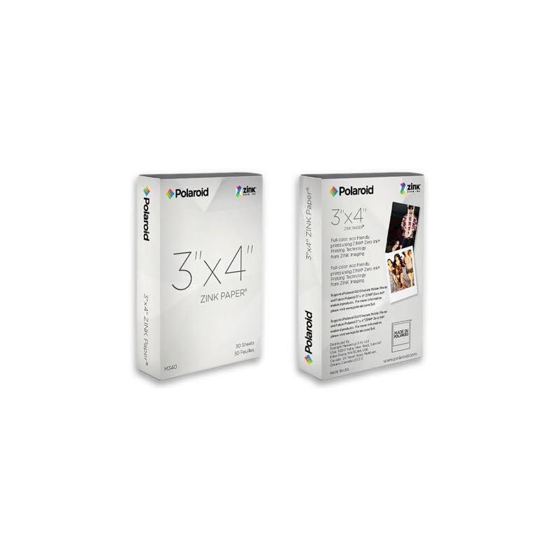 Polaroid M34030A 3x4 Zink Photo Paper fo