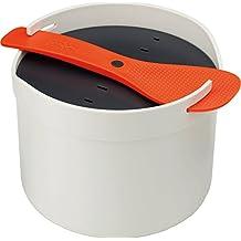 Joseph Joseph 7045002SO M-Cuisine Rice Cooker, Orange