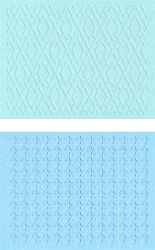 QUICKUTZ Lifestyle Crafts Classic Embossing Folder, 2-Pack