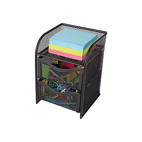 - Staples 222517 Wire Mesh Desktop Organizer Black 7