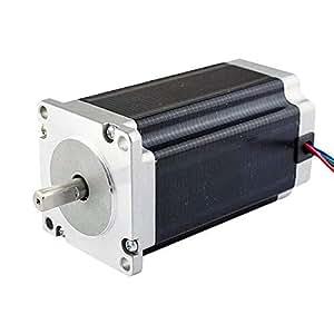 Low current nema 23 cnc stepper motor 1 8a for Nema 15 stepper motor