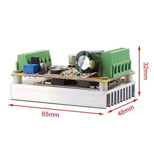 Brushless Motor Controller, DROK DC 6 5-50V Three-phrase