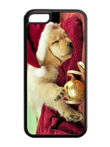 Iphone 5C Case,Christmas Dot Jingling Bell Iphone 5C TPU Silicone Cases,Iphone 5C Cover Case