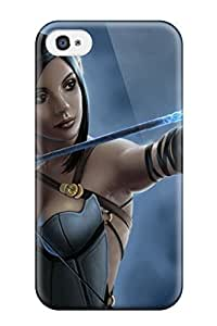 Faddish Phone Fantasy Girl Elf Case For Iphone 4/4s / Perfect Case Cover
