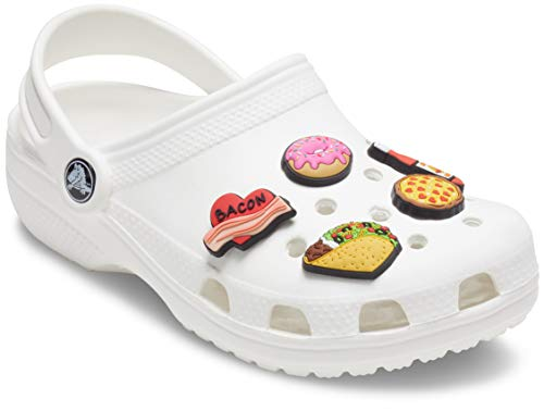 Crocs Jibbitz Shoe Charm 5-Pack, Trendy Food, Small