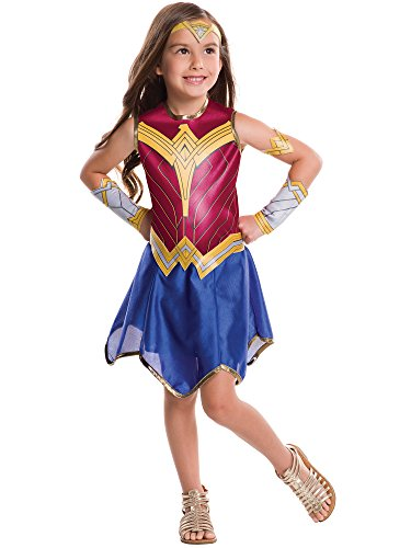 Rubie's Costume Batman v Superman: Dawn of Justice Wonder Woman Tween Value Costume, Medium]()