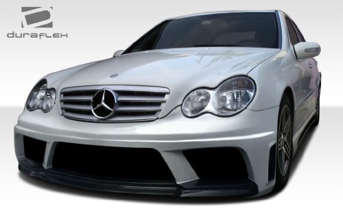 Duraflex ED-ZIO-038 AMG V2 Look Body Kit - 4 Piece Body Kit - Fits Mercedes C Class - 2001 2002 2003 2004 2005 2006 2007 | 01 02 03 04 05 06 07