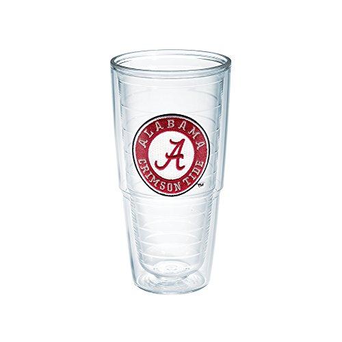 Tervis 1007219 Alabama University Emblem Individual Tumbler, 24 oz, Clear