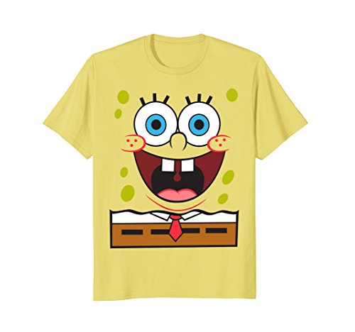 Spongebob Printed T-shirts (Spongebob Squarepants Large Smile T-Shirt)