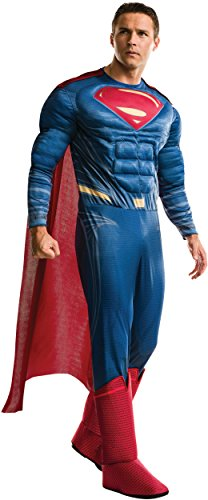 A Cut Above Costumes - Adult Men's Deluxe Justice League Superman Costume Large 46